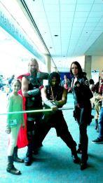 Thor Black Widow Quinlan Vos Padawan Jedi